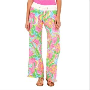 Lilly Pulitzer The Beach Pants in So a Peeling XL